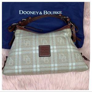 Dooney & Bourke • Windowpane Logo Satchel